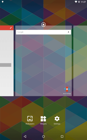 Nova Launcher 5.0-beta3 Screen 1