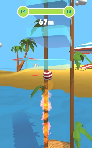 Arch Ball - Flick Ball 3D 1.0.9 Screen 4