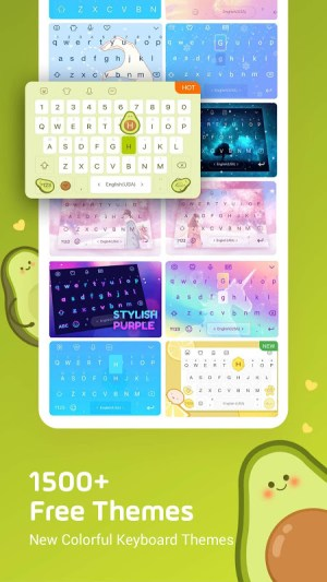 Facemoji Keyboard Pro:Emoji keyboard,Theme,Gif 2.6.0.3 Screen 1