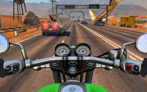 Android Moto Rider GO: Highway Traffic Screen 18