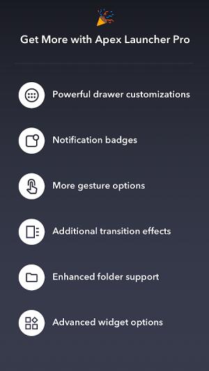 Apex Launcher Pro 1.4 Screen 7