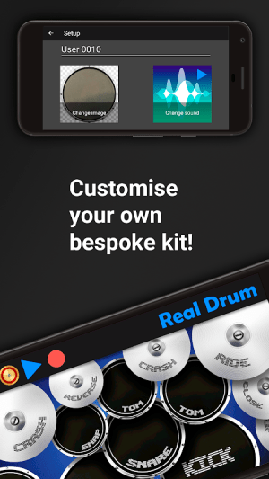 Real Drum - The Best Drum Pads Simulator 8.11 Screen 5