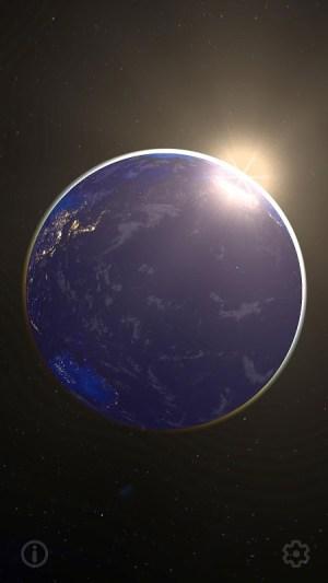 3D Earth & Real Moon. Live Wallpaper. 1.1.0 Screen 5