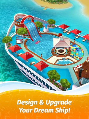 Android The Love Boat: Puzzle Cruise – Your Match 3 Crush! Screen 8