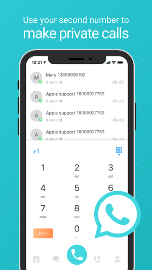 PingMe - Second Phone Number Call & Text 20032613 Screen 13
