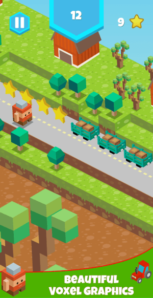 Android Blocky Roads Screen 2