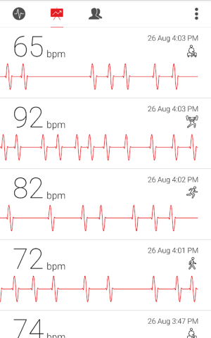 Cardiograph - Heart Rate Meter 4.1.2 Screen 12