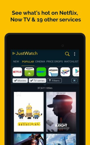 JustWatch - Search Engine for Streaming and Cinema 2.5.13 Screen 19