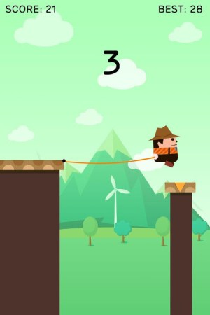 Android Rope Swing Screen 3