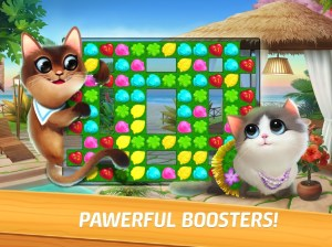 Meow Match: Cats Matching 3 Puzzle & Ball Blast 0.9.1 Screen 2