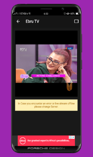 Kenya Live TV 3.5.7 Screen 1