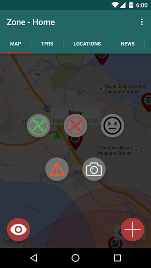 Android Zone - Drone  Quadcopter App Screen 1