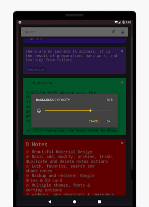 D Notes - Smart & Material - Notes, Lists & Photos 2.2.3 Screen 10