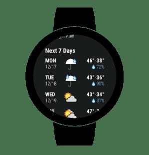 Dark Sky - Hyperlocal Weather 3.3.1 Screen 9