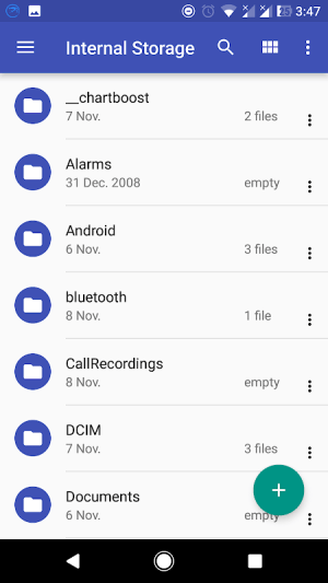 Android FS File Explorer File Manager Screen 1