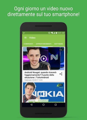 Android TuttoAndroid.net - Le notizie su Android Screen 2