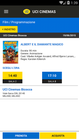 UCI CINEMAS ITALIA 3.1.6 Screen 3