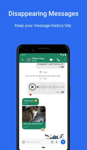 Signal Private Messenger 5.0.0 Screen 3