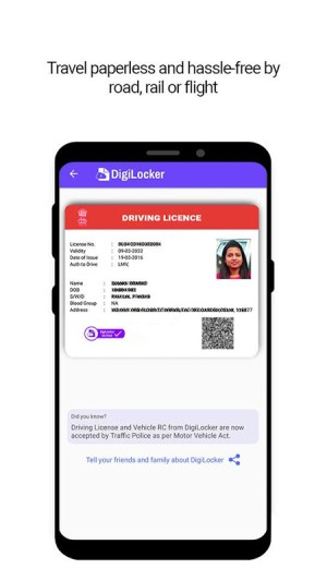 DigiLocker  -  a simple and secure document wallet 6.4.1 Screen 3