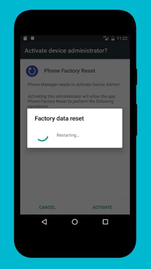 Phone Factory Reset 1.7 Screen 3