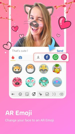 Facemoji Keyboard Pro:Emoji keyboard,Theme,Gif 2.6.0.3 Screen 3