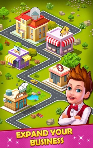 Restaurant Tycoon : cooking game❤️🍕⏰ 7.1c Screen 2