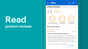 eBay Online Shopping - Buy, sell and save money 5.36.0.20 Screen 1