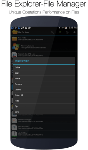 File Explorer and Manager 1.1 Screen 10