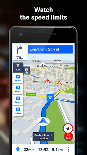GPS Navigation & Maps Sygic 18.4.2 Screen 10