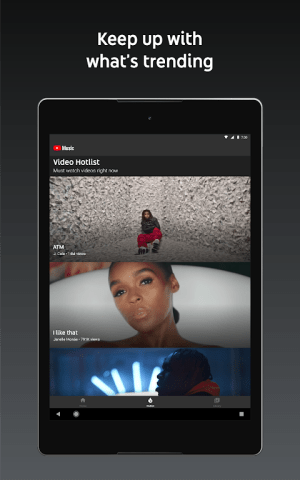 Android YouTube Music - stream music and play videos Screen 10