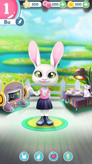 Android Bu the Baby Rabbit - Virtual pets care game Screen 8