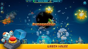 Android Galactic Missile Defense Screen 2