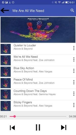 KD Music Player 2.1 Screen 4
