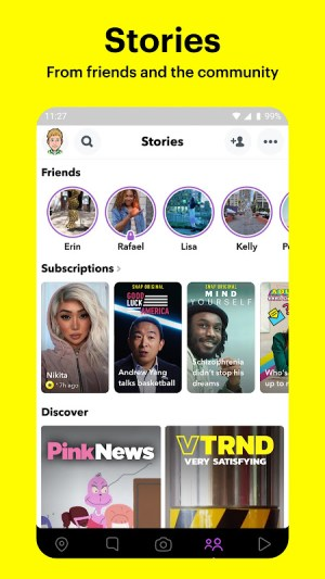 Snapchat 11.46.0.33 Screen 4