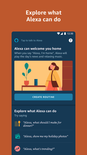 Amazon Alexa 2.2.365751.0 Screen 2