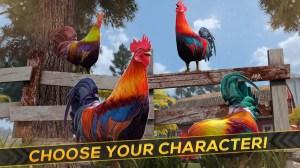 Wild Rooster Run - Frenzy Chicken Farm Race 2.11.9 Screen 8