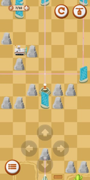 Laser Odyssey - Reflection Puzzle 1.02c Screen 3