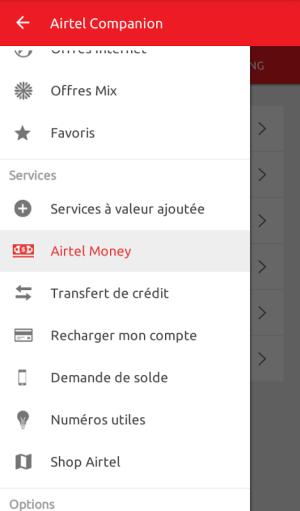 Airtel Companion 2.3.4 Screen 1