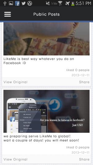 Like Me 1.0.1 Screen 3