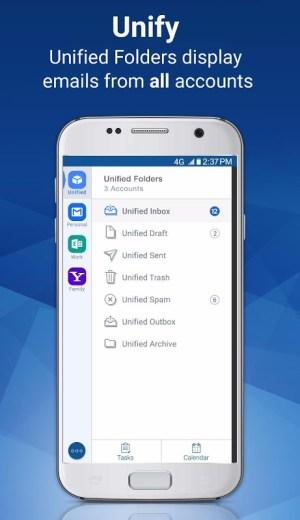 Blue Mail - Email & Calendar - Mailbox 1.9.6.10 Screen 3