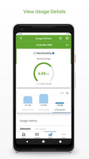 Android myCricket Screen 2