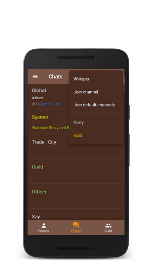 WM Chat 2.2.2 Screen 4