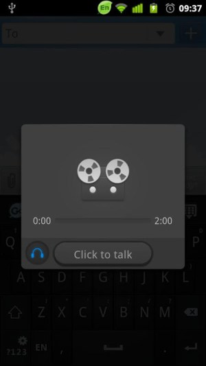 Android GO Keyboard Voice Changer Screen 2