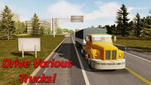 Heavy Truck Simulator 1.741 Screen 1