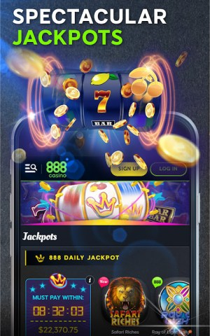 Android 888 Casino: Slots, Live Roulette & Blackjack Games Screen 10