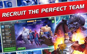 Android Marvel Contest of Champions Screen 1