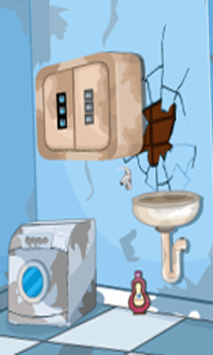Android 3D Escape Messy Bathroom Screen 5