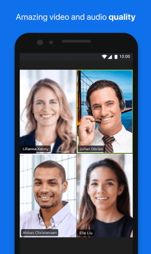 ZOOM Cloud Meetings 4.5.5699.1027 Screen 1