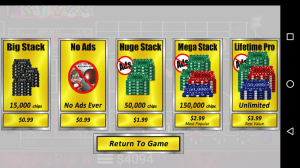 Craps Trainer Free 2.10 Screen 3