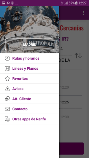 Renfe Cercanias 2.1.4 Screen 1